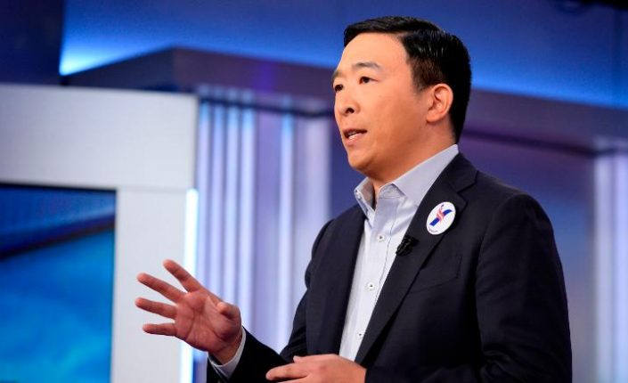 Andrew Yang and Universal Basic Income
